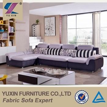 Home Furniture Small L Shape Corner Sofa/modern Wooden L Shaped Sofa Set