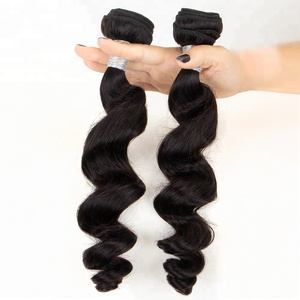 Fast Shipping Wholesale Hair Bundles Brazilian Virgin Remy Malaysian Loose Wave Hair Weft