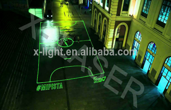 Outdoor Laser Advertising Programmable Text Laser