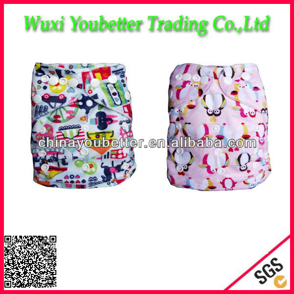 Snap Cloth Diaper Baby Incontinence Nappy Comfortable