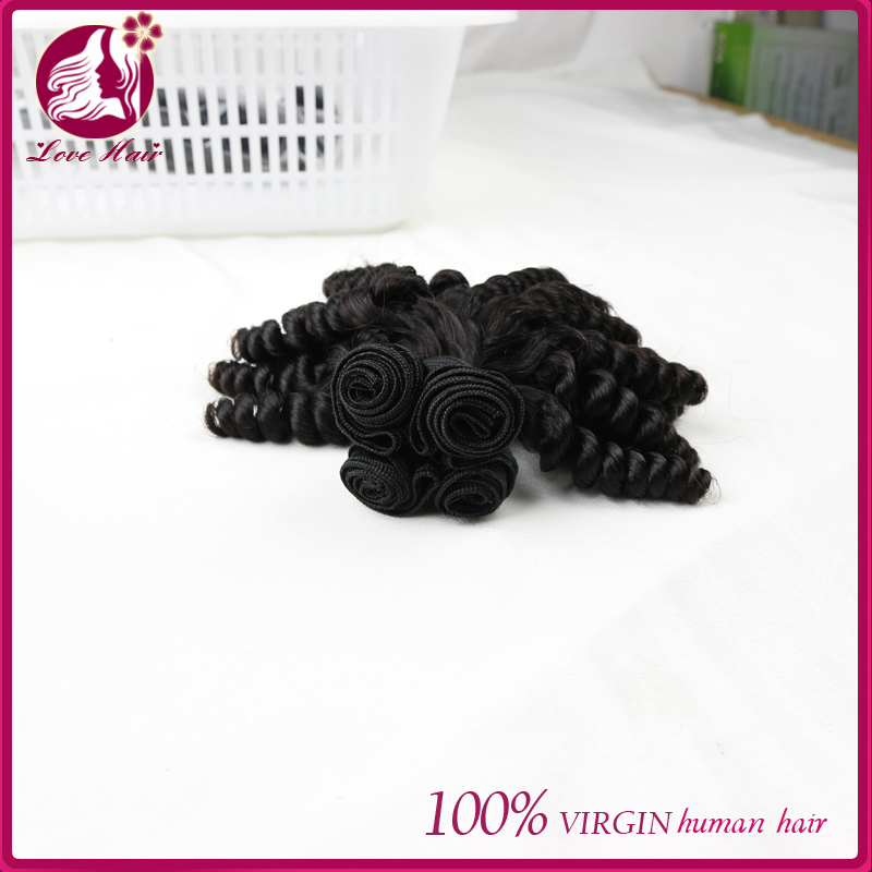 100 Human chinese raw virgin unprocessed hair love hair bundles love hair one of the ten brand in china