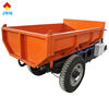 cheap price high quality strong power 3000w 72v cargo electric 3 wheel electric tricycle widely used half closed