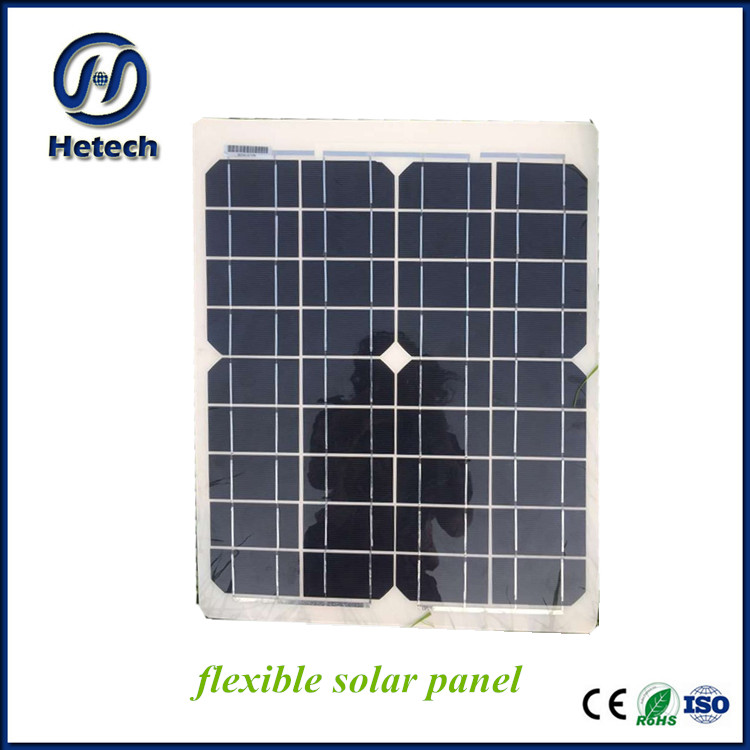 2017 Hot selling new project 20W 18V sunpower pv roof flexible solar panel