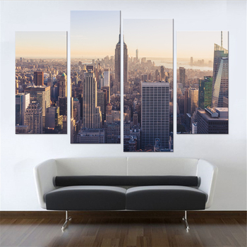 Modern New York City Canvas Set Wall Decor Living Room Pictures Home Art Prints