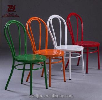 Good Price Metal Thonet Chair ZJ T13 Metal Cafe Chair Thonet Metal Restrant  Chair