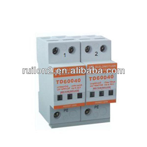 Solar Panel Surge Protection 600/800/1000V DC