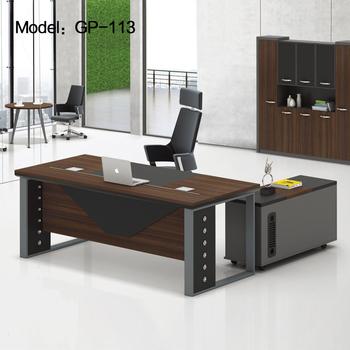 Popular Wooden Office Table Luxury Boss Desk
