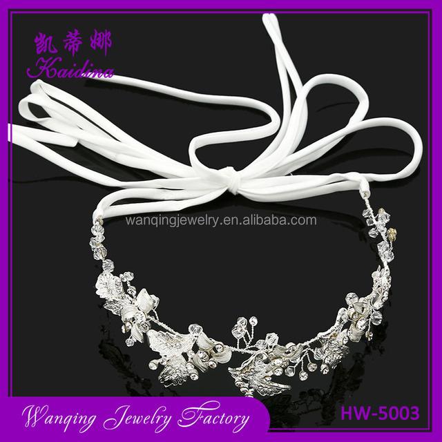 wholesale makeris sales latest headband designs wedding hair accessories