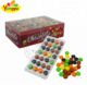 Chocolate rainbow color crispy candy cover chocolate beans