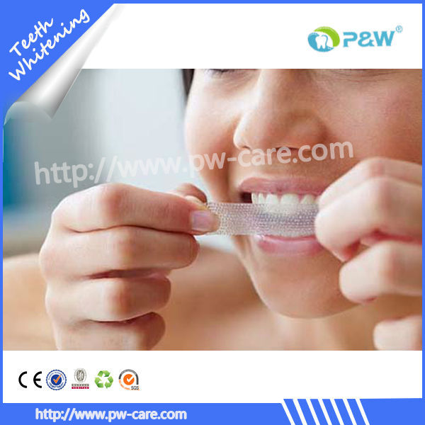 High quality teeth whitening strip, white whitestrips vivid