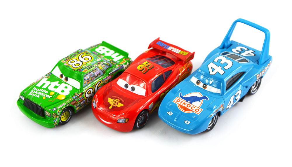 2019 Set 100 Original Cars Pixar 2 Diecast Models Vehicles Kids