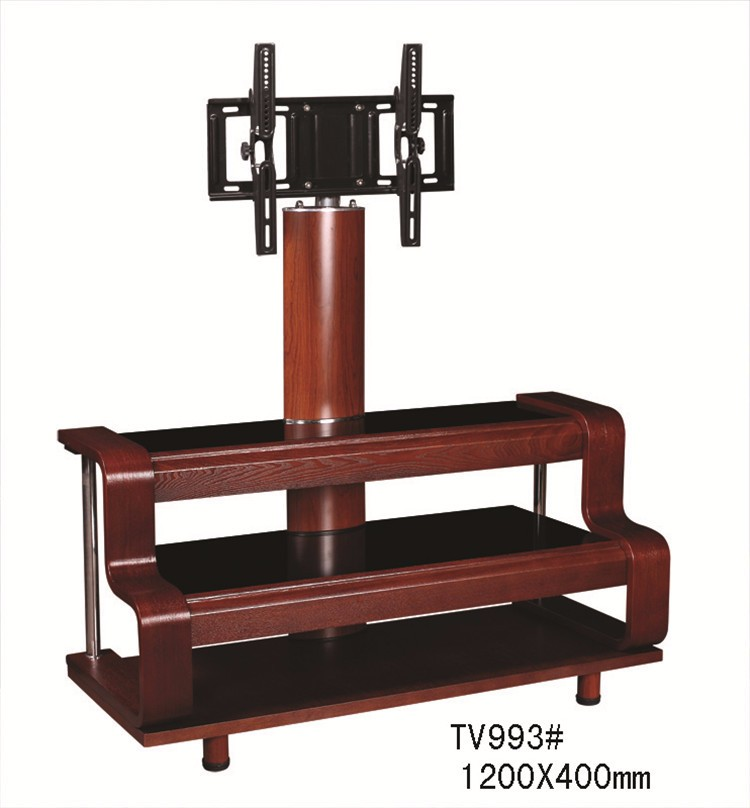 Plasma Lcd Led Bent Wood Tv Stand With Mount Tv993#