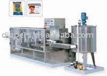 YX-2II Wet Tissue Folding Machine Baby Wipes Machine