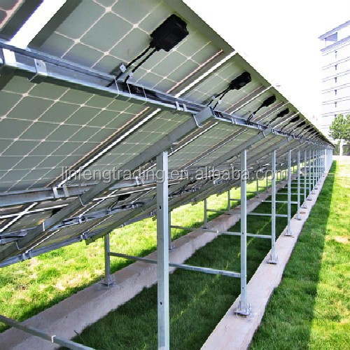 Galvanized Ground PV Solar Mounting System/Bracket