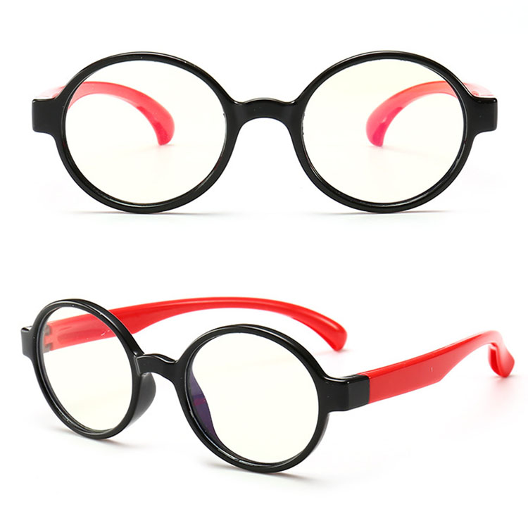 2018 Wholesale computer gaming glasses anti blue light High Quality Eye Protection Kids frames blue light blocking glasses
