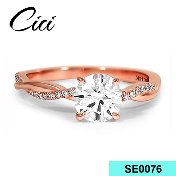 24 Carat Gold Plated Design 925 White 18k Gold Jewelry Wedding Ring - Buy  Wedding Ring,White Gold Wedding Rings,24 Carat Gold Wedding Rings Product  on
