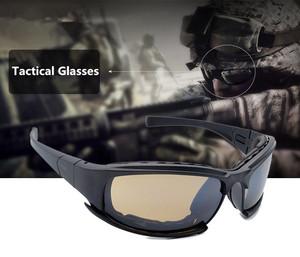 0597e2cc9c Tactical CS7 Glasses Military Goggles Bullet-proof Army Sunglasses With 4  Lens Original Box Men