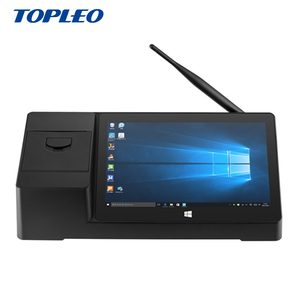 Professional design PIPO X3 Smart all in one WIN 10 Android touch pos system terminal with printer