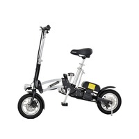 Foldable 12 inch electric bike for adults
