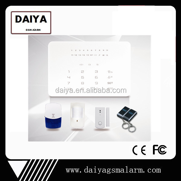 DAIYA home security solutions with contact ID DY-XPLCD