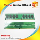 Ddr2 1gb 1gbddr2 Ddr2 Manufacturers PC2 6400 Ddr2 Ram 1gb Compatible Memory