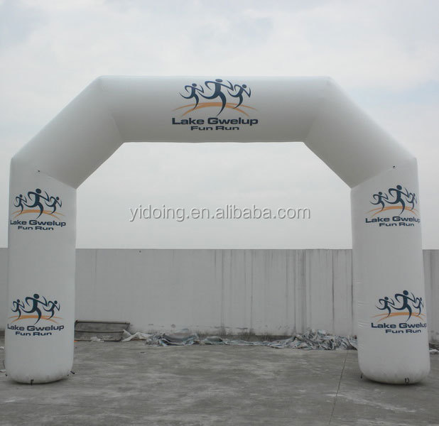 Custom inflatables arch running race K4013