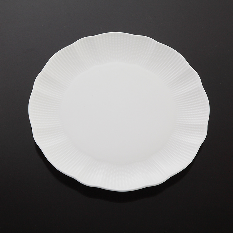 P&T Royal ware white dinner plate hot sell bone china round plates