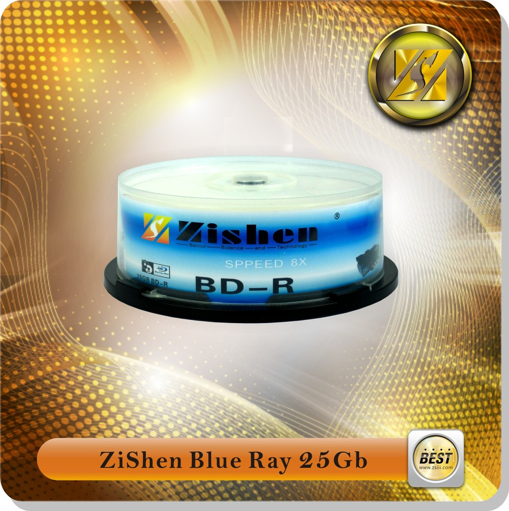 China Wholesale 25 Gb Blue Ray Blank Disc
