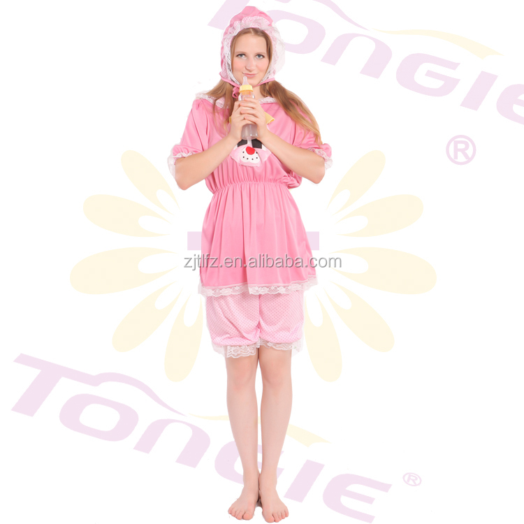 Made In China New Style Lovely Adult Baby Cosplay Costumes Fashion Carnival Costume With Hat