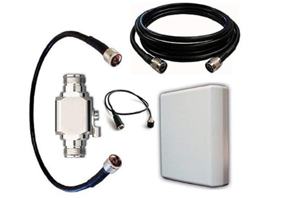 High Power Antenna Kit for at&T Unite Pro Hotspot (Netgear 781S) with Panel Antenna and 50 ft Cable