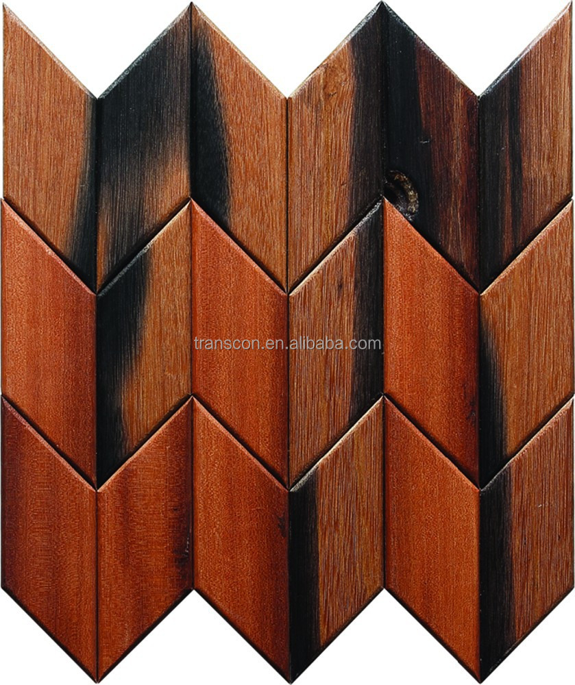 New Design Old Ship Wood Wall Mosaic Panel Tile For Distribution ...