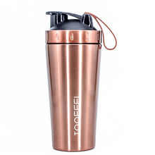 Gym Olahraga Stainless Steel <span class=keywords><strong>Protein</strong></span> Shaker <span class=keywords><strong>Botol</strong></span> Logam Kustom Grosir Shaker
