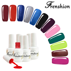 Frenshion Wholesale China Nail Gel Supplier OEM Bottles Private Label Colors Kits Soak Off Led UV Gel Nail Polish
