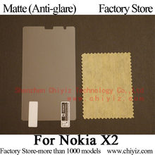 Matte Anti glare Frosted LCD Screen Protector Guard Cover Protective Film Shield For Nokia X2 Dual SIM