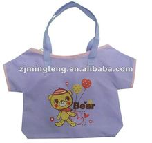 lovely clothes nonwoven Bag