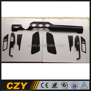 Carbon Fiber Auto Car Interior Trim for Ford Mustang 15UP 10 Pieces