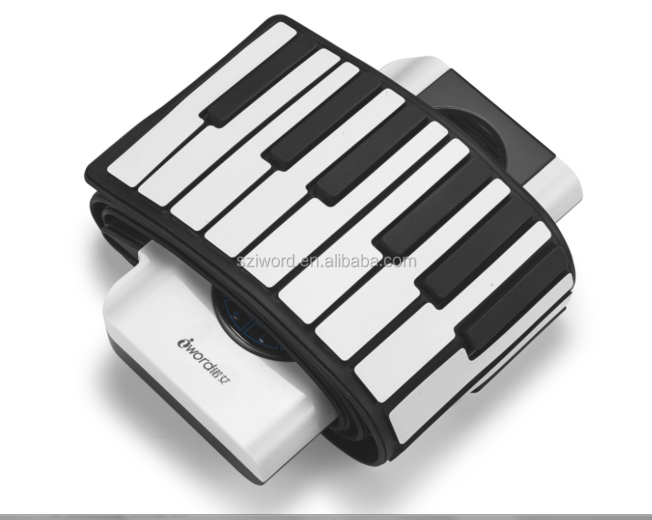 Usb Musical Keyboard Usb Midi Roll Up Piano 88 Keys - Buy Musical  Instrument Piano 88 Key,Custom Keyboard Keys,Flat Piano Keyboards Product  on