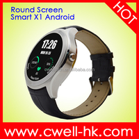 IPS Full View Touch Screen Bluetooth 4.0 Smart Watch Mobile Phone Round X1