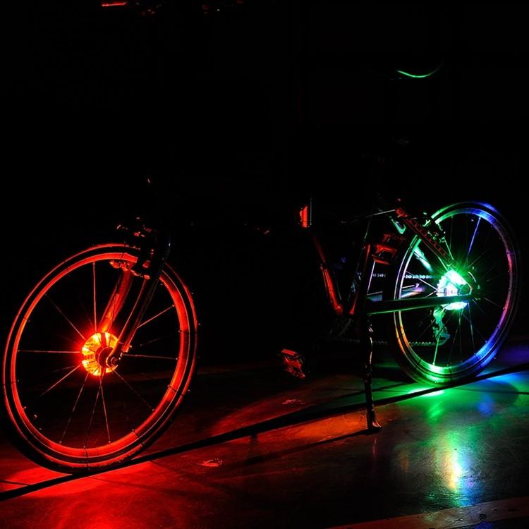 Nieuwe Bike Verlichting Met Batterij Fiets Waterdichte Bike Hubs ...