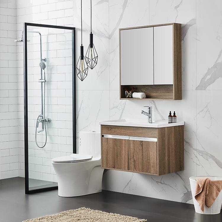 Washroom Wooden Bathroom Wall Cabinets