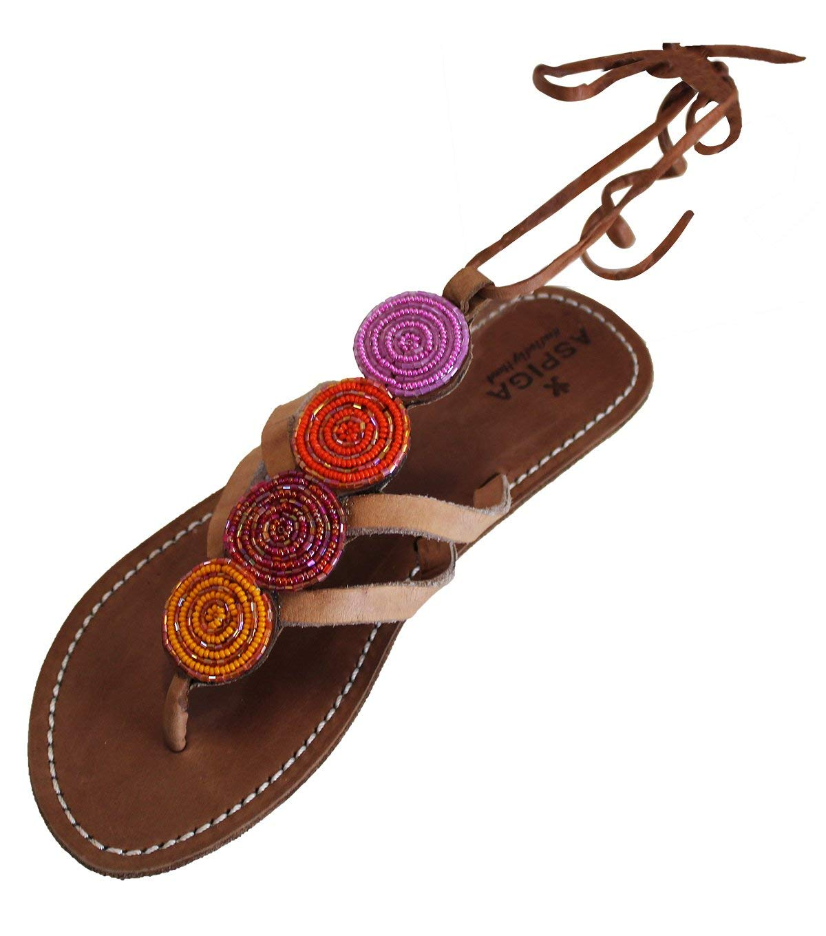 0e565758749 Get Quotations · New Women Beaded Gladiator Sandals Shoes Thong Flops T  Strap Flip Flat Size Open Toe