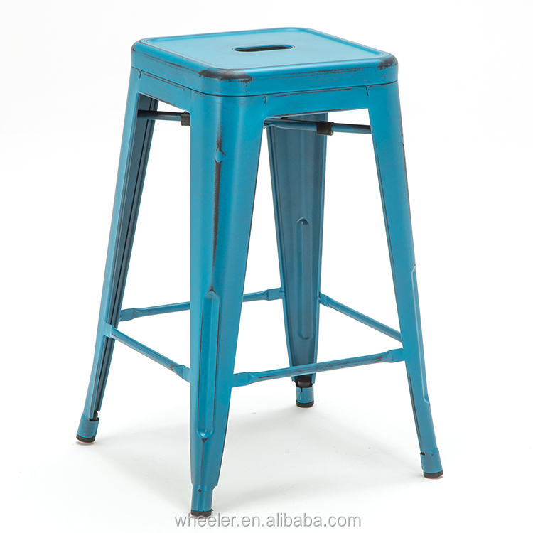 Industrial chairs vintage metal bar stool cheap restaurant bar stool