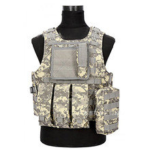 men's 4xl molle plate carrier vest police body tactical weight vests