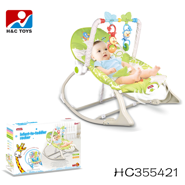 Hot Sale Baby Chairswing Rocking Chair With Lovely Toys Hc355421