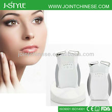2014 newly handheld microcurrent nu face wrinkle remover facial massager