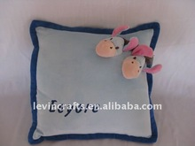 square eeyore plush stuffed soft pillow