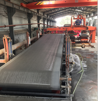 Units factory asbestos-cement products