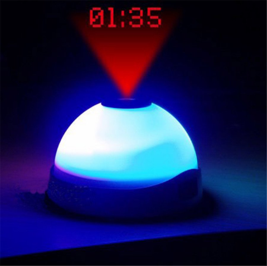 Magic 7 color change laser projection digital clockdigital alarm magic 7 color change laser projection digital clockdigital alarm clock with ceiling led projection mozeypictures Image collections