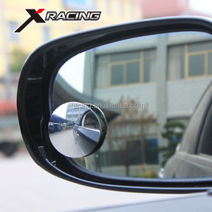 NM-2406 Round HD Glass Frameless Convex Rear View Mirror Car Side Blind Spot Mirror