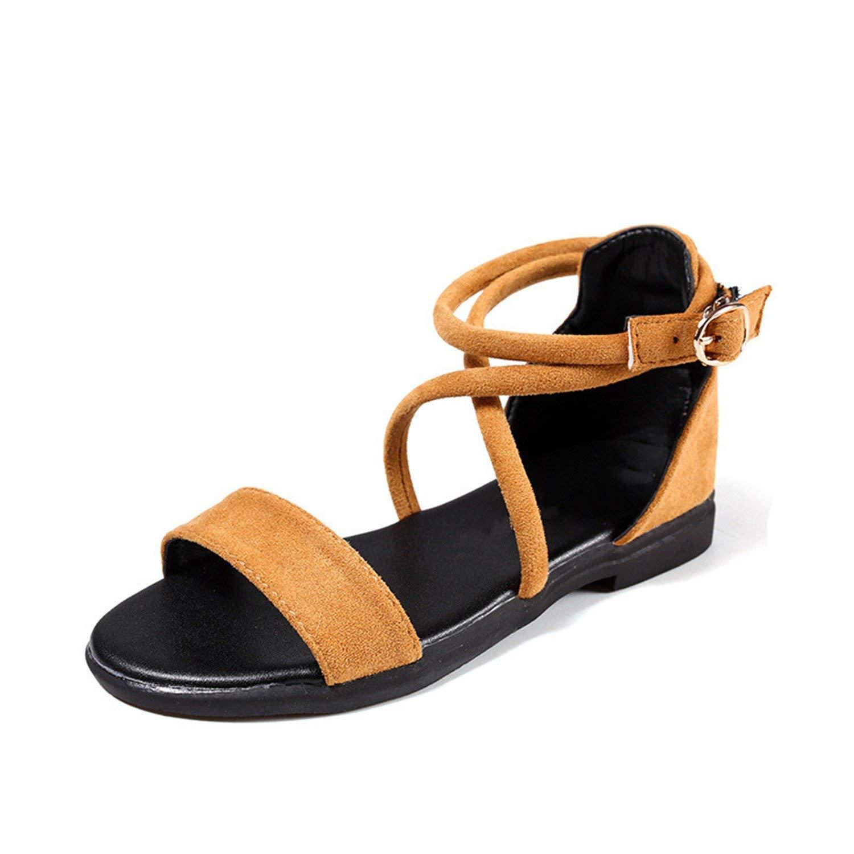 e64f0d0e7 Get Quotations · Gail Jonson Kids Roman Sandals Girls Summer Gladiator  Shoes Children Flock Beach Sandals for Girls Princess